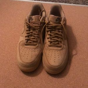 Nike Air Force 1 AF1 Low Flax Wheat